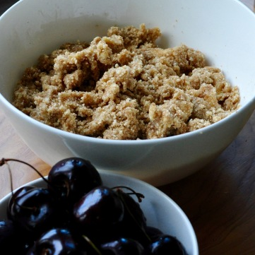 Whole Wheat Almond Crumble