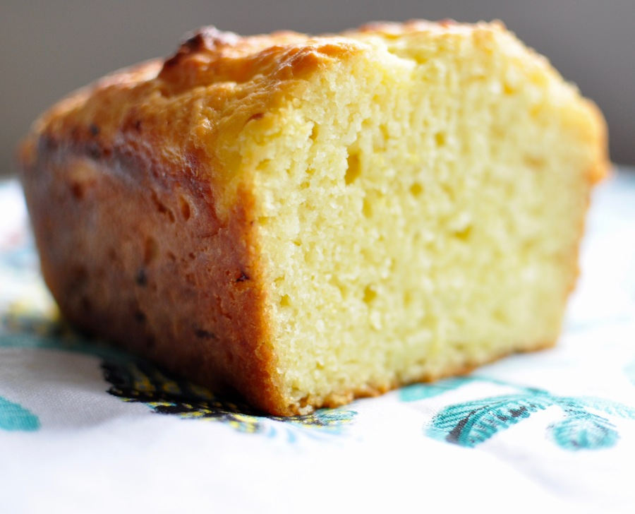 Low-Sugar Lemon Loaf