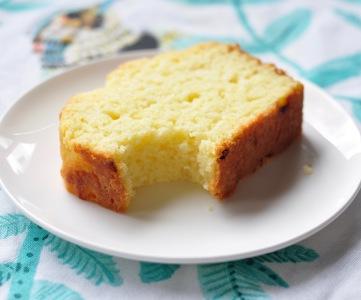 Slice of Lemon Loaf