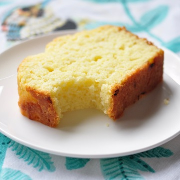 Slice of Lemon Loaf
