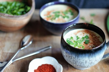 Delicious Cream of Lentil and Bacon Soup