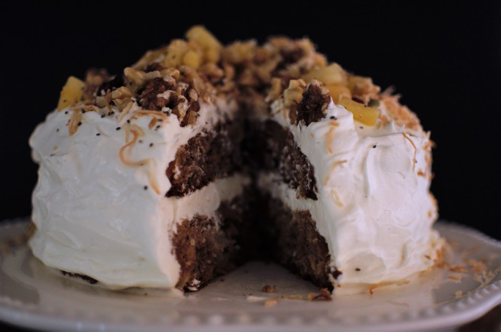 Low Sugar Cream Cheese Frosting and Sugar Free Carrot Cake