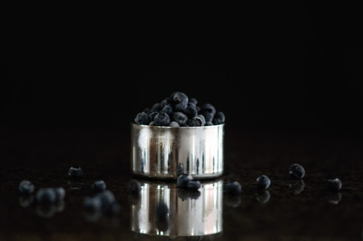 Sugar Free Blueberry Cream Cheese Frosting