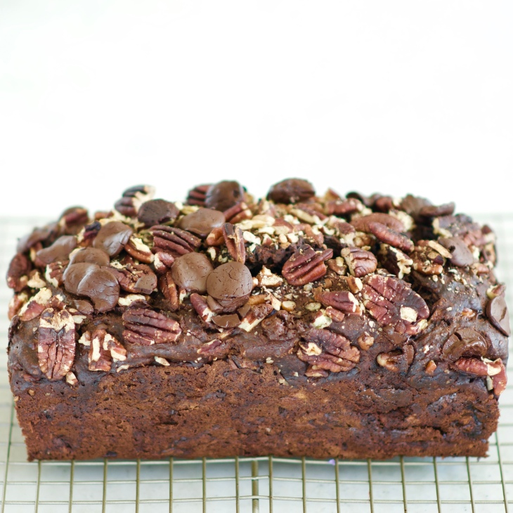 Bake a healthier Banana Bread: Low sugar, high fibre, Omega 3 6 fatty acids, make this a nourishing chocolate treat