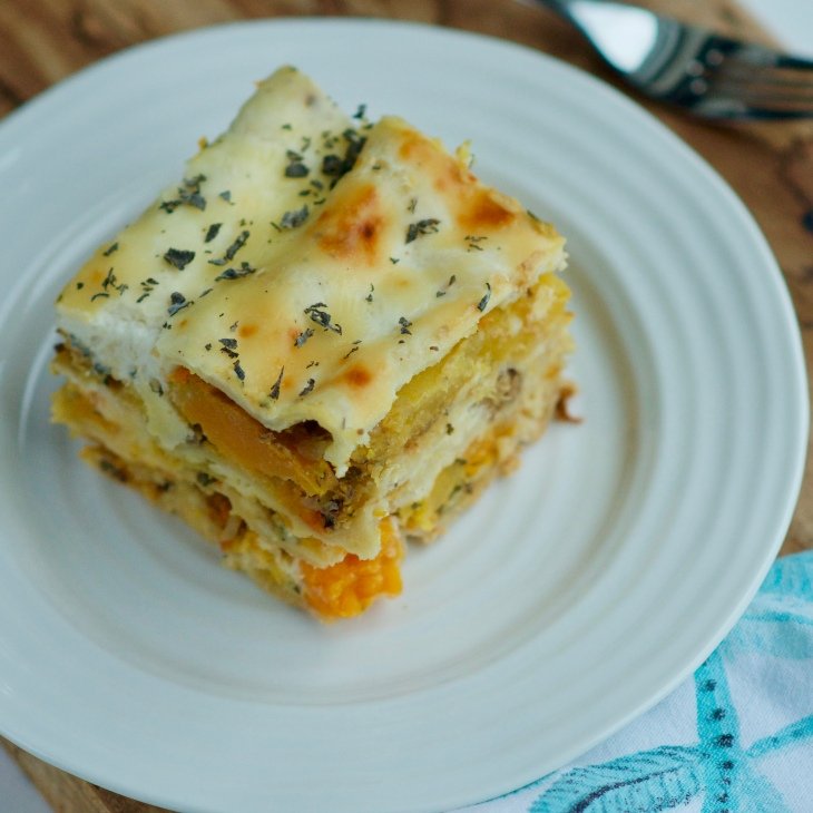 Roasted Butternut Squash Lasagna with hazelnuts Vegetarian Feast