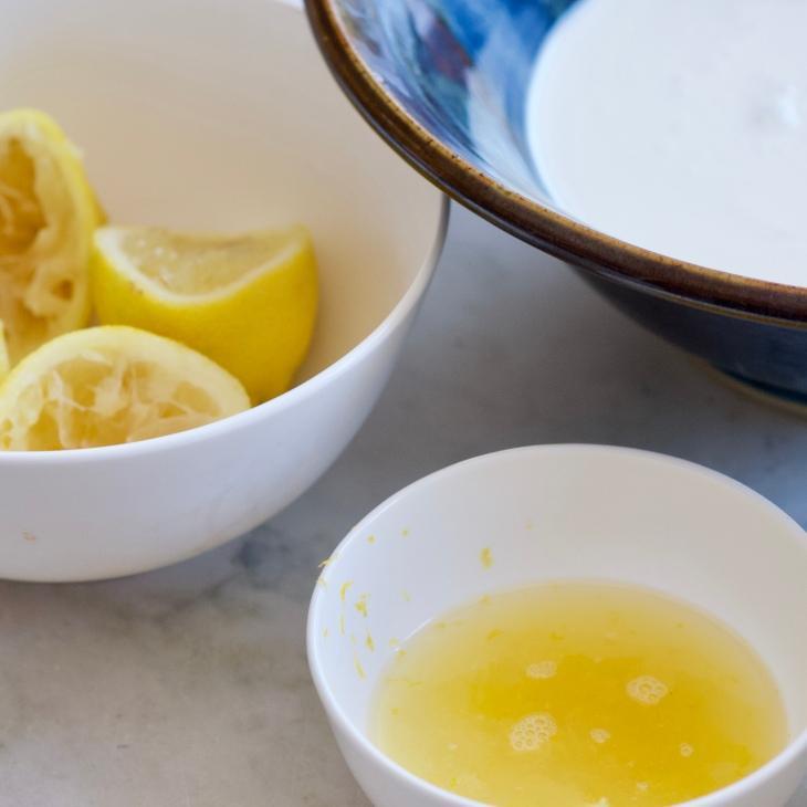 No Churn Fresh Lemon Ice Cream