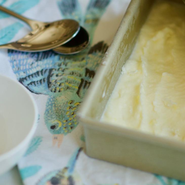 Delicious No Churn Fresh Lemon Ice Cream